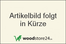 Sockelleiste Eiche furniert für Parkett und Massivholzdielen, 40 x 22 mm, 240 cm lang, klar oder weiß lackiert