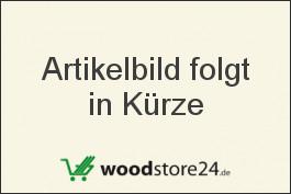 Komplettset WPC Zaun / Sichtschutz / Steckzaun, braun / silber eloxiert 950 mm (Höhe) x 20 mm (Stärke) x 1800 (Breite) mm, Zaunhöhe inkl. Start und Abschlussprofil (Serie WoodoTexel ohne Pfosten)