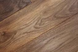 Massivholzdielen Eiche 20 x 186 mm, geräuchtert, gebürstet, geölt, Länge: 500 - 2450 mm (1 PE / 1 m²)
