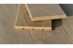 Massivholzdielen Eiche 20 x 186 mm, roh, unbehandelt Länge: 500 - 2450 mm (1PE / 1 m²)