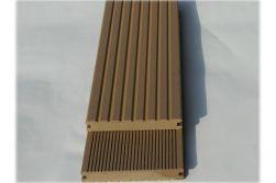 BPC Massivdiele WoodoSaba, 20 x 145 mm, sandfarbend, 4,00 m lang