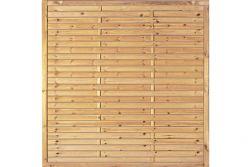 Sichtschutzzaun Holz Kiefer/Fichte 180 x 180 cm (Serie Föhr)